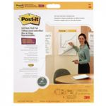 Post-it Table Top Meeting Chart White Refill Pk 2 566