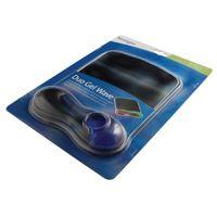 Acco Kensington Gel Wave Mouse Mat Blue/Black 62401