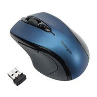 Kensington Pro Fit Mid Size USB Wireless Mouse Blue K72421WW
