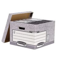 Fellowes Bankers Box System Storage Box Grey 01810