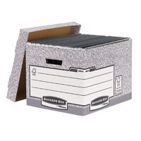 Fellowes Bankers Box System Storage Box Grey 00810FF