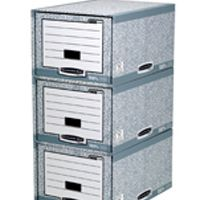 Fellowes Bankers Box System Storage Drawer Grey/White 01820