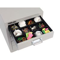 Bisley Multi Drawer Insert Tray Plastic 51mm High 16 Compartments