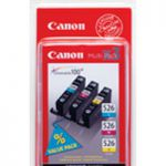 Canon CLI-526 Inkjet Cartridge Multi Pk Cyan/Magenta/Yellow (Pk 3) 4541B009