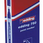 Edding 750 Paint Marker Opaque Bullet Tip Black 750-001