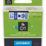 Dymo 4500 Tape Blue/White 45014 S0720540