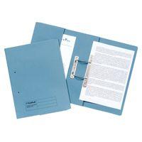 Guildhall Transfer Spring Pocket File Blue 349-BLU