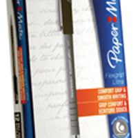 PaperMate Flexgrip Ultra Ball Point Pen Fine Black 24311 S0190053