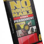 No More Nails Strip Permanent Red 781740
