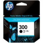 HP 300 Inkjet Cartridge Black CC640EE#ABB