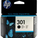 HP 301 Ink Cartridge Black CH561EE