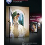 HP Photo Paper 300gsm Glossy A4 Pk 20 CR672A