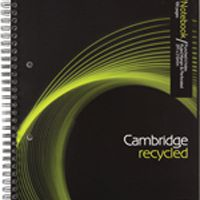 Cambridge Recycled A4 Wirebound Notebook 100 Pages 400020196