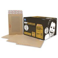 New Guardian Board-Back Envelope 444x368mm 125gsm Manilla Peel and Seal Pk 50 C27726