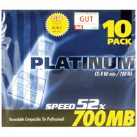 Q-Connect CD-R 700MB/80minutes in Slim Jewel Case Pk 10