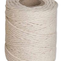 Flexocare Cotton Twine 125Gms Medium White Pk 12 77658008
