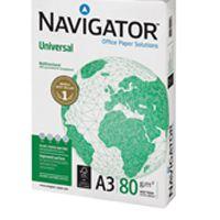 Navigator Universal Paper A3 80gsm White 5 Reams NAVA380