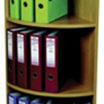 Rotadex Corner Unit 3-Tier Light Oak CU18 CU20 (FMS)