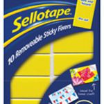 Sellotape Removable Sticky Fixer 20x40mm 1445286