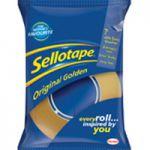 Sellotape Original Golden Tape 18mmx33m Pk8 1443251