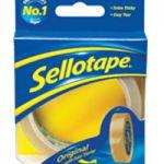 Sellotape Original Golden Tape 24mmx33m Pk 6 1443254