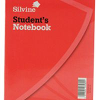 Silvine Exercise Book 200x160mm 40 Leaf Ruled Feint Pk24 144