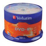 Verbatim DVD-R 16x Pk 50 43548