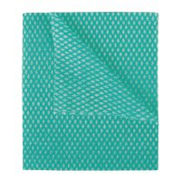 2Work Economy Cloths Green 42X35CM (Pack of 50) 100226