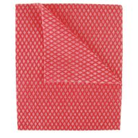 2Work Economy Cloths Red 42X35CM (Pack of 50) CCRC42BDI