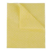 2Work Economy Cloths Yellow 42X35CM (Pack of 50) CCYC42BDI