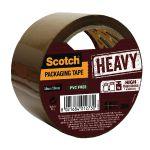 Scotch Packaging Tape Heavy 50mm x 50m Brown HV.5050.S.B