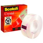Scotch Crystal Tape 19mm x 33m 600