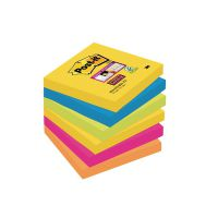 Post-it Super Sticky Notes 76x76mm Rio (Pack of 6) 654-6SS-RIO-EU