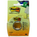 Post-it Cover Up and Labelling Tape 25.4mm 658H