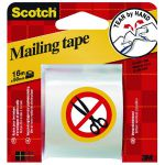 Scotch Clear Hand Tearable Packaging Tape 50mmx16m E5106C