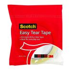 3M Scotch Easy Tear Clear Everyday Tape Single Roll GT500077224
