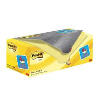 Post-it Notes 76 x 76mm Canary Yellow (Pack of 20) 654CY-VP20