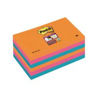 Post-it Notes Super Sticky 76 x 127mm Bangkok (Pack of 6) 70-0051-9806-7