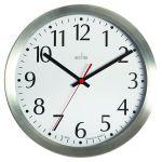 Acctim Javik 10 Inch Wall Clock Aluminium 27417