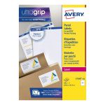 Avery White Laser Parcel Labels 199.6 x 143.5mm 2 Per Sheet (Pack of 500) L7168-250