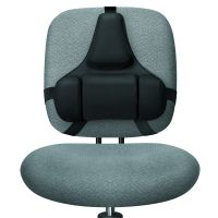 Fellowes Ultimate Back Support Black 8041801