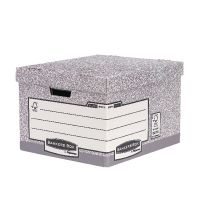 Fellowes Heavy Duty Bankers Box Large Size W380xD430xH287mm (Pack of 10) 001812