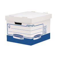 Fellowes Basics Standard Heavy Duty Storage Box W333 x D380 x H285mm (Pack of 10) BB72105