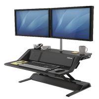 Fellowes Lotus DX Sit-Stand Workstation Black 8081001