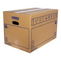 Bankers Box SmoothMove Standard Moving Box 350 x 350 x 550mm (Pack of 10) 6207301