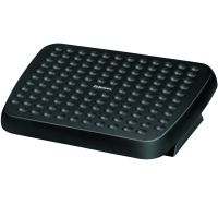 Fellowes Standard Adjustable Foot Rest Black 48121-70