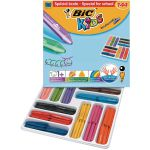 Bic Kids Plastidecor Triangle Crayons (Pack of 144) 887833