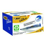 Bic Velleda 1701 Whiteboard Marker Bullet Tip Blue (Pack of 12) 1199170106