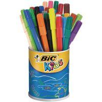 Bic Kids Visa Colouring Felt Tip Pens Fine Assorted (Pack of 36) 829012