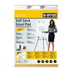 Bi-Office Self-Stick Flipchart Pad 635x780mm 30 Sheet White FL128107
